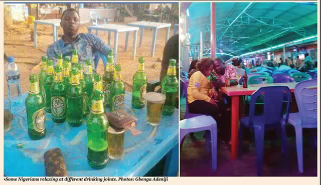Nigerians drown recession sorrows in booze