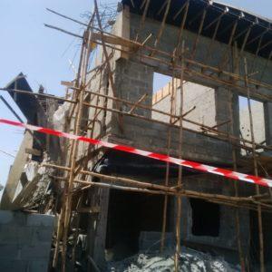 Two die in Lekki building collapse