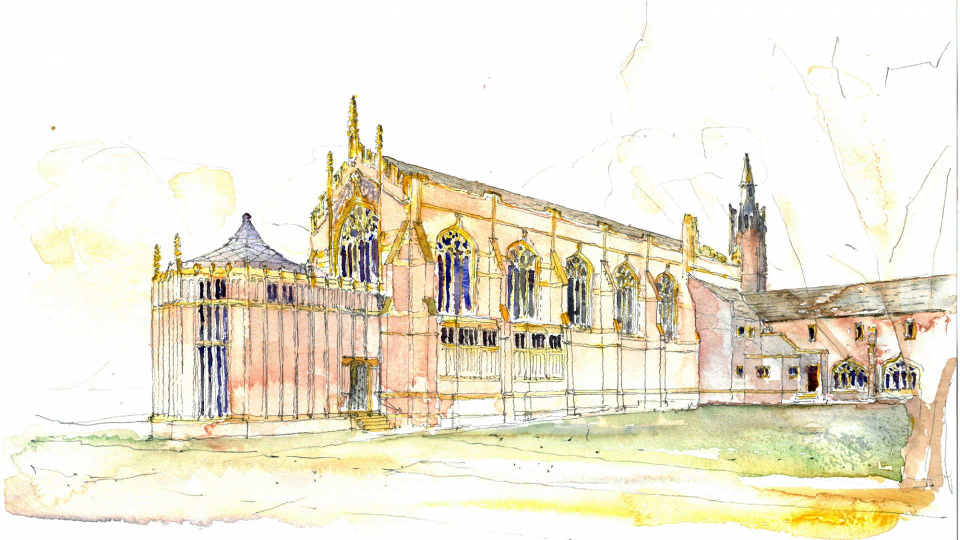 The development of the Chapel is a conscious continuation of Jackson's work, whilst having its own distinctive character and presence.