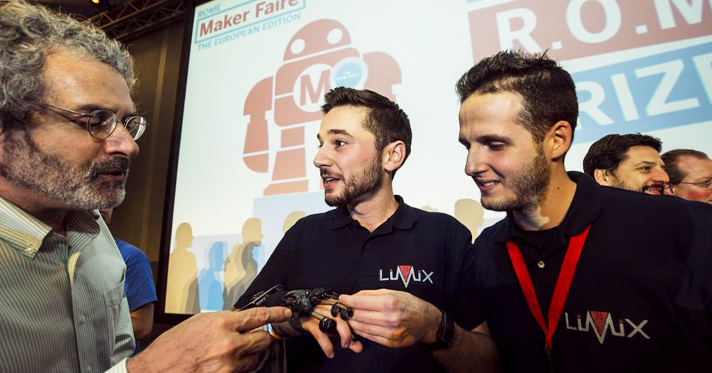 Talking Hands, LiMiX dà voce alla LIS e vince il R.O.M.E. Prize