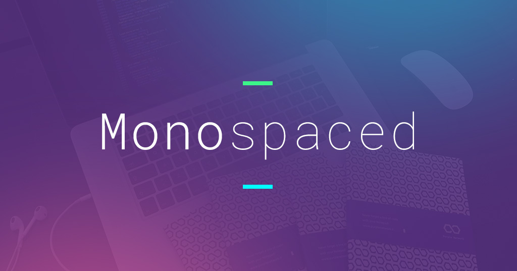 La bellezza nascosta dei font Monospace