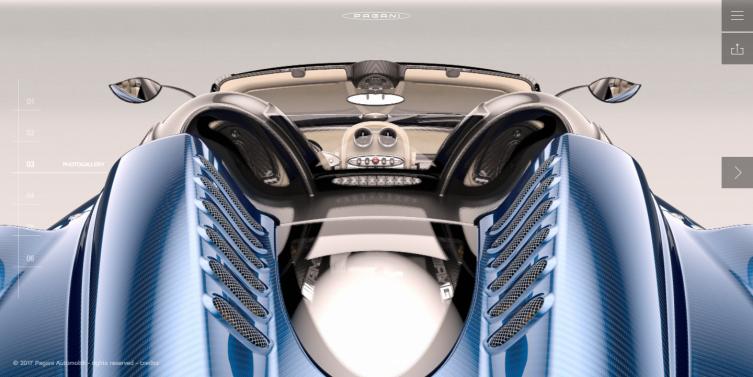 Huayra roadster Pagani Automobili_b