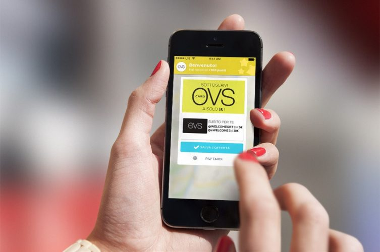 Proximity Marketing anche per il fashion retail con Fashion Message di OVS