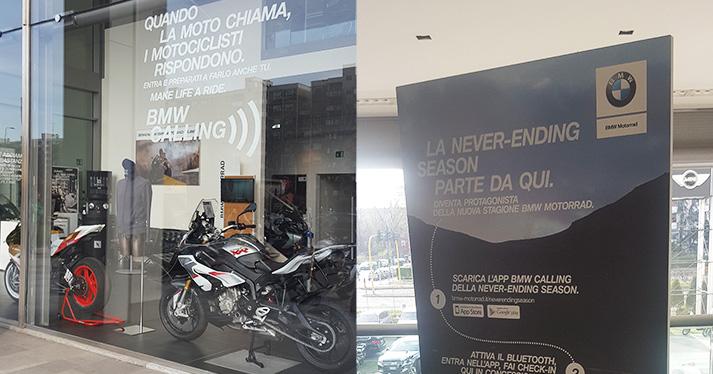 BMW Calling App, sviluppata in collaborazione con M&C Saatchi
