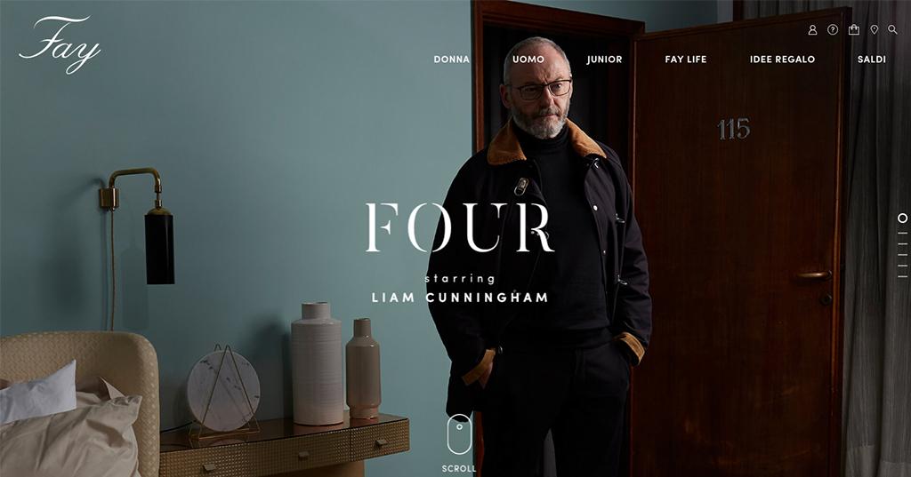 Four, la nuova campagna Fay per l'iconico 4 Ganci