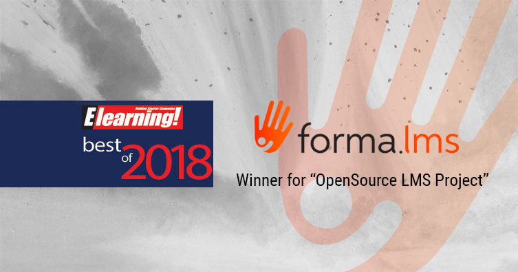 Forma.lms: protagonista (e vincitrice!) ai Best of Elearning 2018