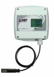 T7611 etäluettava lämpötila+kosteus+ilmanpaine Ethernet PoE