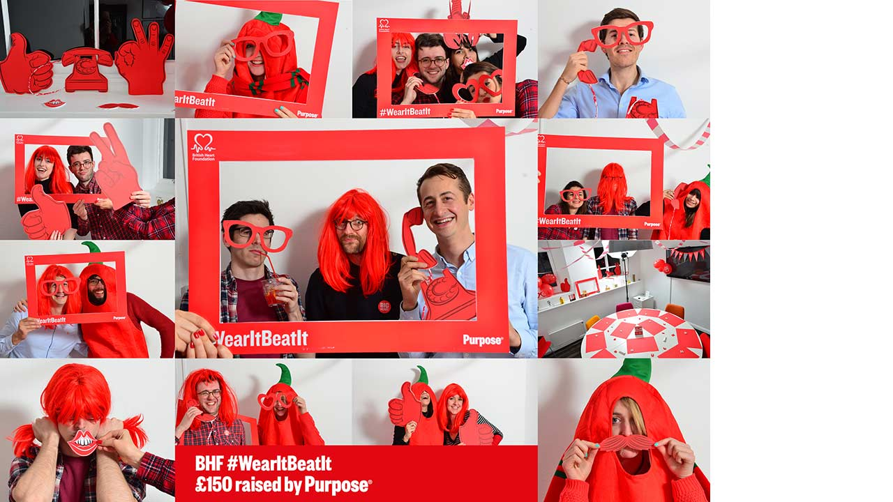 BHF – Wear it beat it event