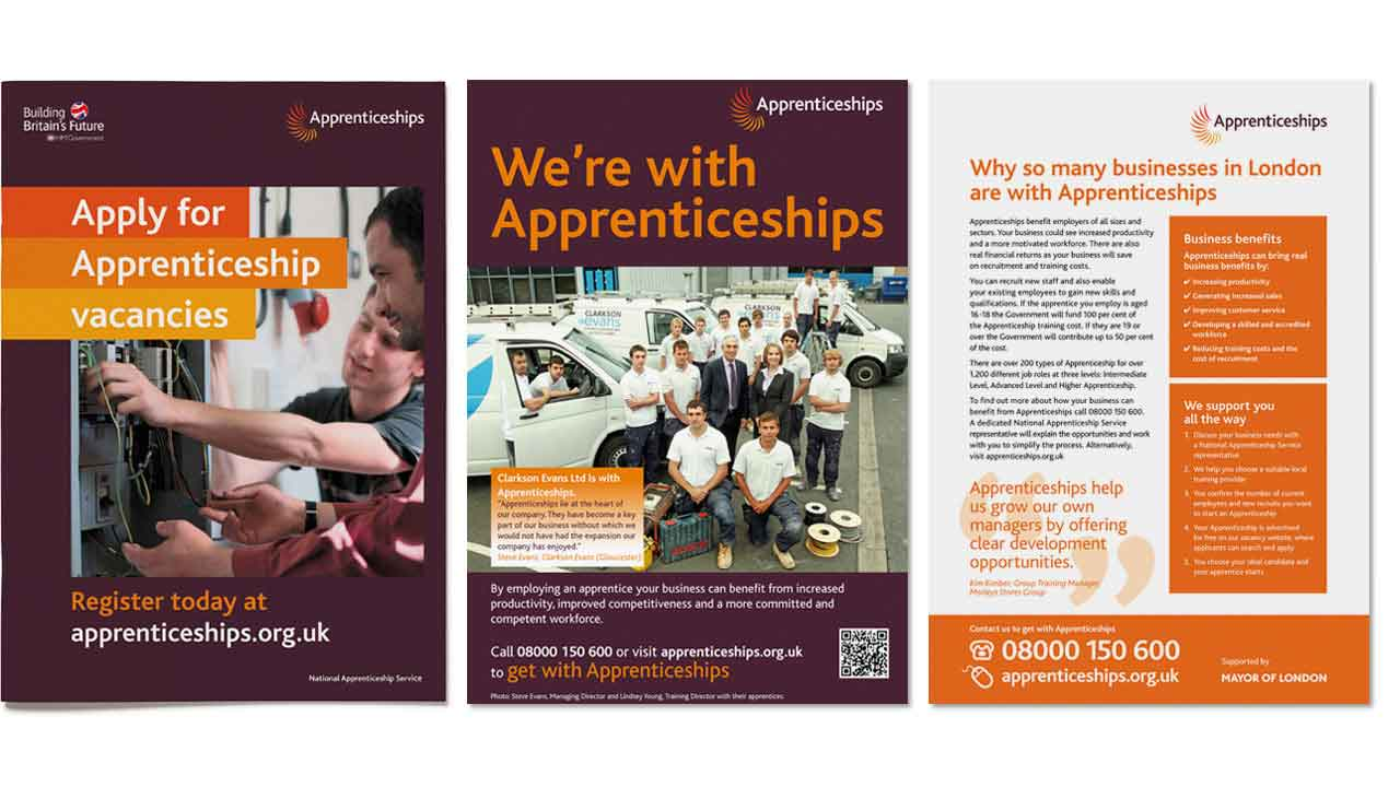 Previous identity for Apprenticeships
