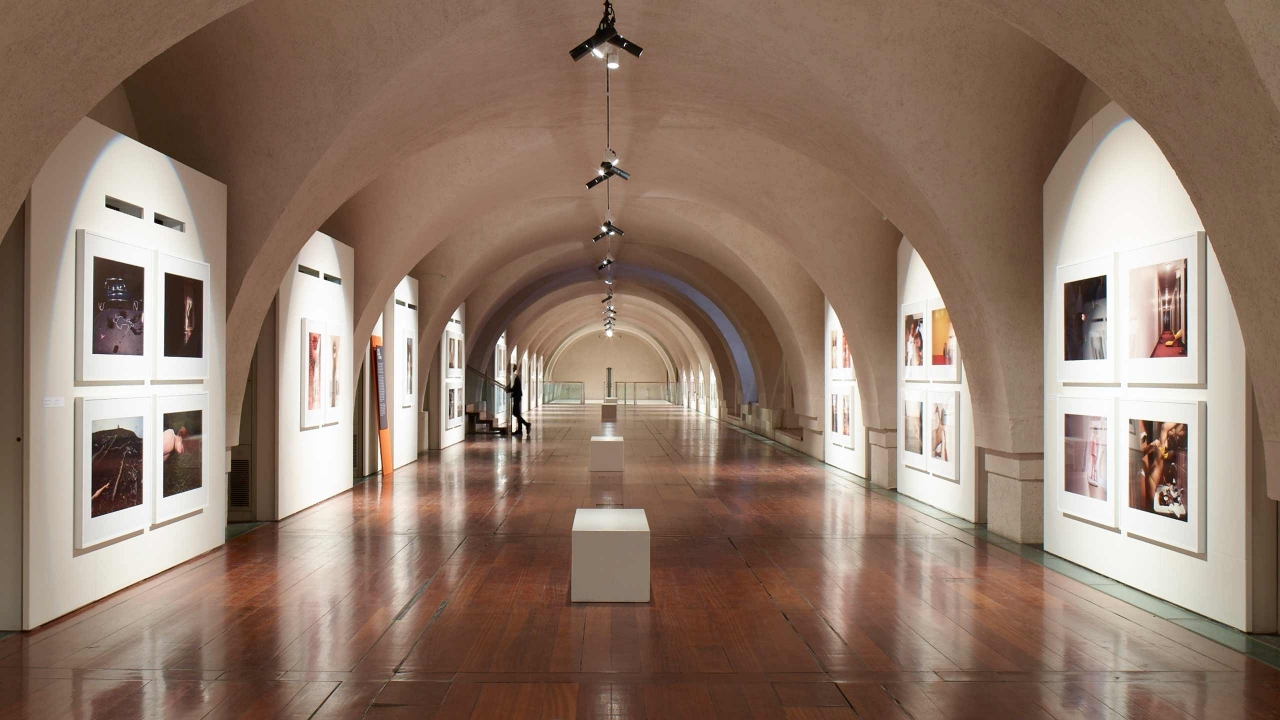 Guy Bourdin Exhibition hall
