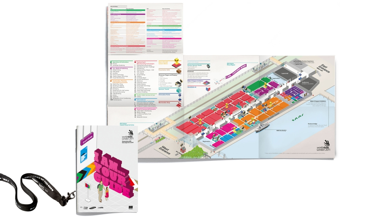 WorldSkills London 2011 – Map