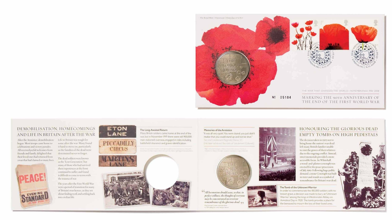Royal Mail Armistice Pack