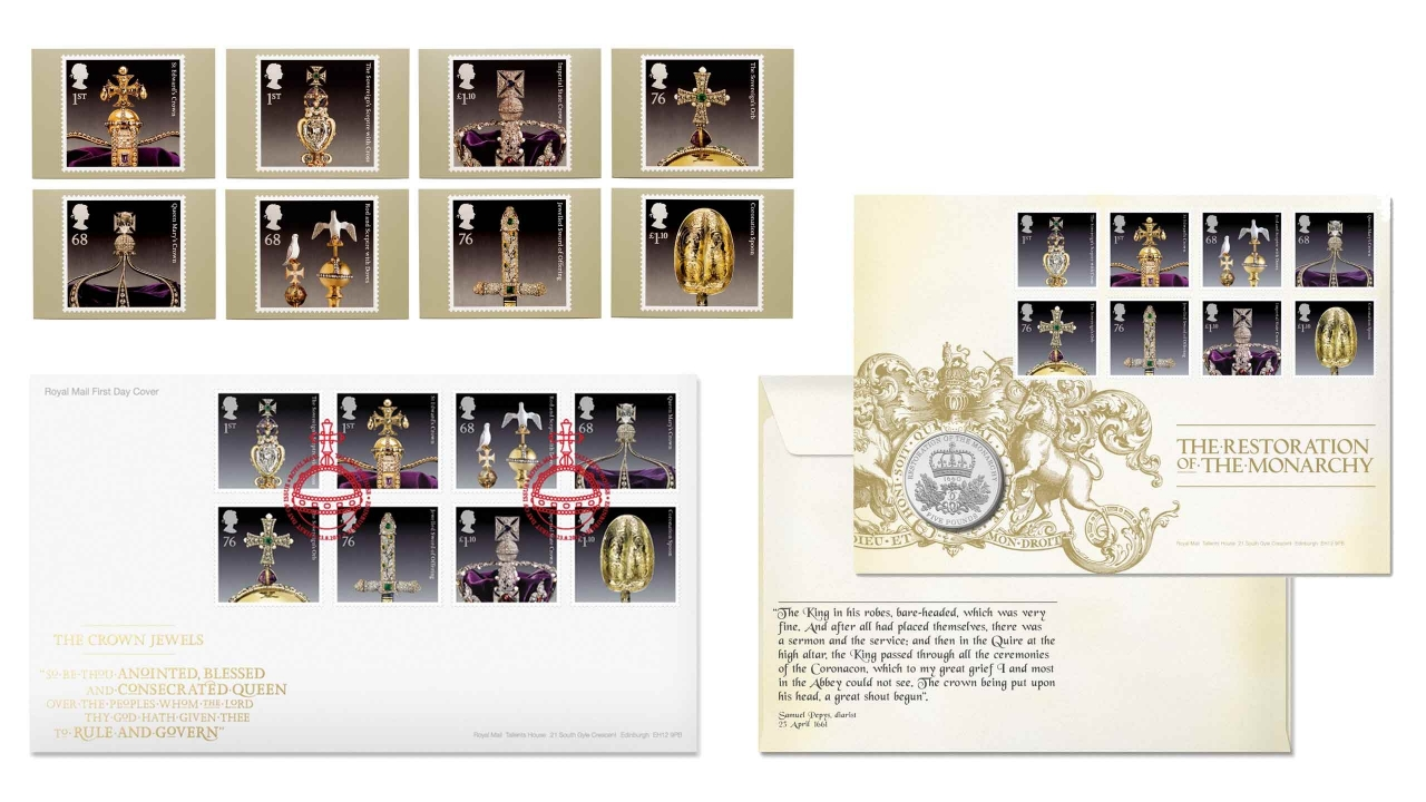 Royal Mail Crown Jewels