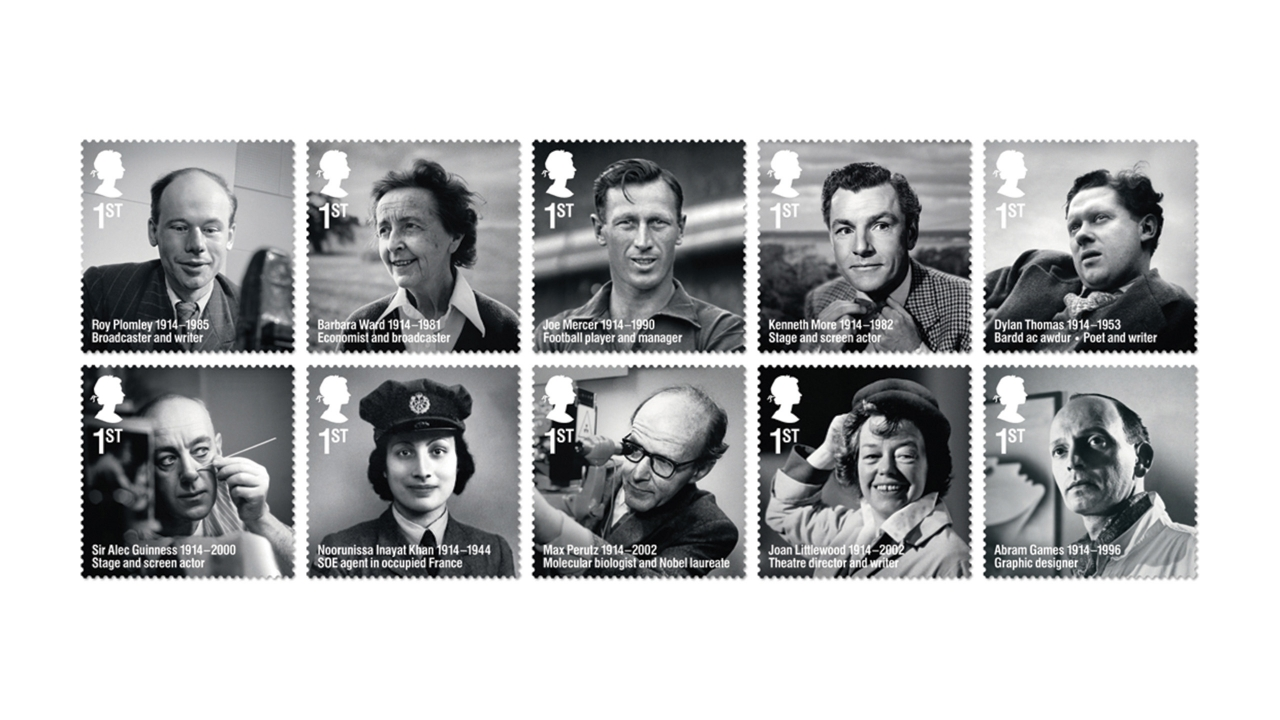 Remarkable Lives stamps