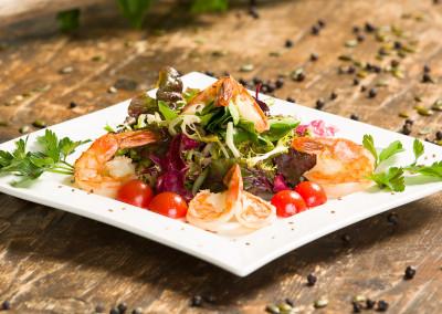 Energyness Salat mit Garnelen
