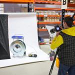 Industrie Fotoshooting (Making Of)