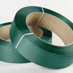 Umreifungsband Grün nach Kundenvorgabe eingefärbt (nach Postproduktion)