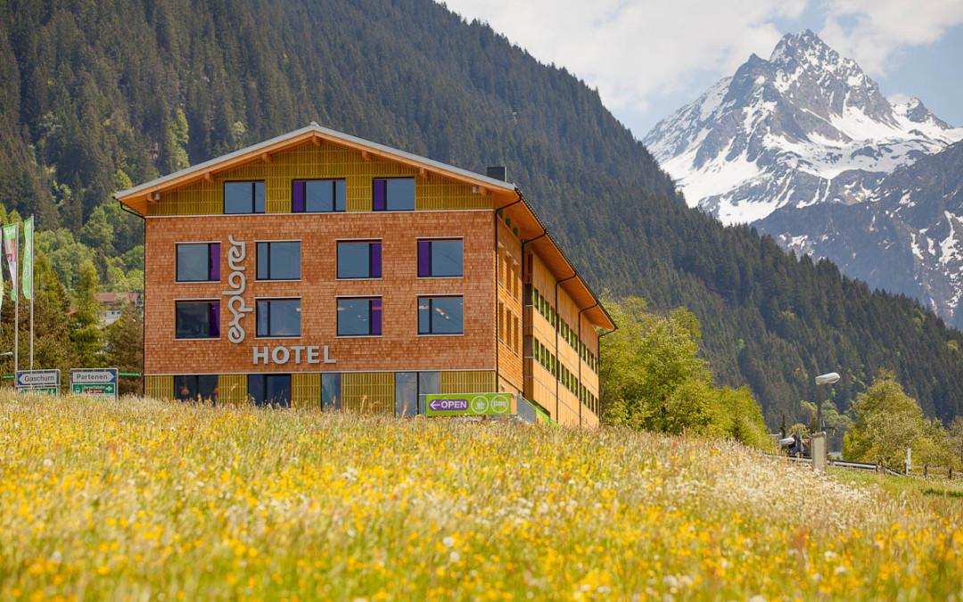 Aussenaufnahmen – Explorer Hotel in Montafon