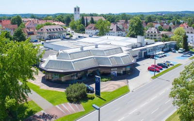 Luftbild Fotografie – Autohaus Allgäu