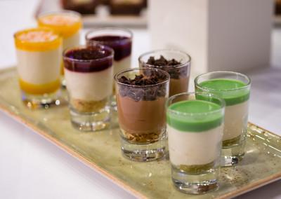 fuess gastro messe - leckere desserts