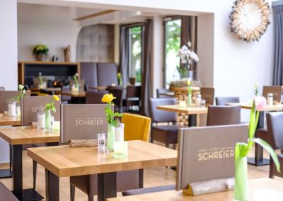 Innenaufnahme vom Cafe Schreier - Wintergarten