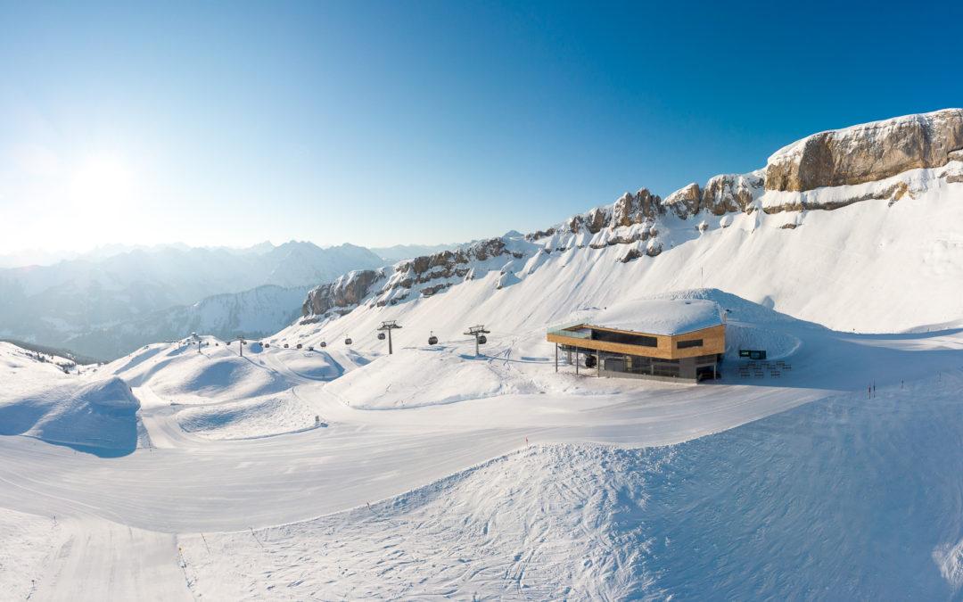 Die neue Gipfelstation der Ifenbahn