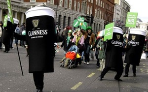 Option 1: St. Patrick's Day - 4 Day Tour from Dublin
