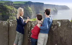(Small Group) Cliffs of Moher Tour from Dublin