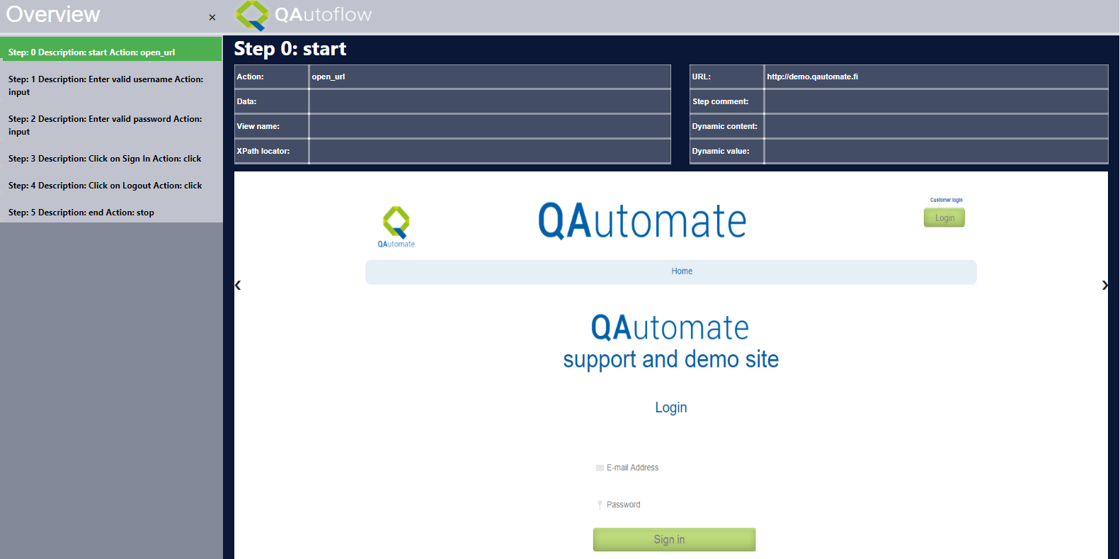 QAutorobot User Interface — qautorobot documentation