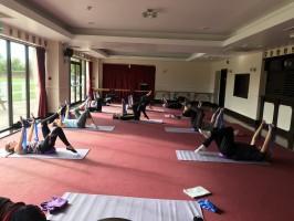 Pilates Class Captain Teds 12th September