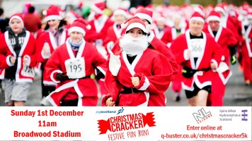 jogscotland Christmas Cracker 5k 2019 - Broadwood Stadium