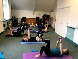 9.30am Pilates 5 week Block Mar - apr All saints church