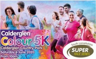 Calderglen Colour 5k - SL Race Series