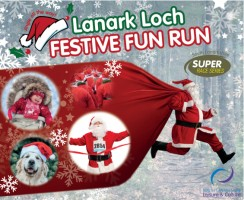 Lanark Loch Festive Fun Run 2021