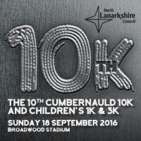 Cumbernauld 10k, 3k, 1k and Victory Mile Walk