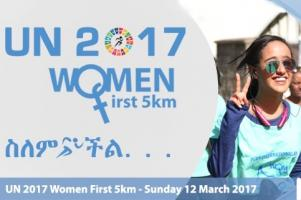 UN 2017 Women First 5km