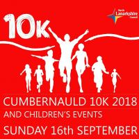 Cumbernauld 10k, 3k, 1k, 400m, Toddler Dash and Victory Mile Walk 2018