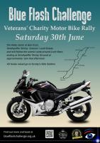 Blue Flash Chalenge veteran  Motor bike Charity Rally   Rally