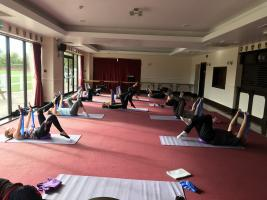 Physio led pilates Cragside school February 26th 2019