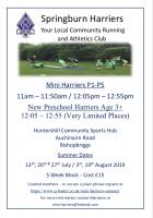 Mini Harriers Summer