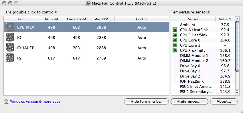 mac fan control how to use
