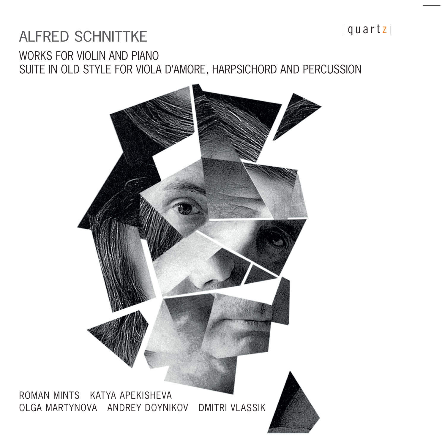 Alfred schnittke works for violin and piano roman mints roman mints violin katya apekisheva piano pooptronica