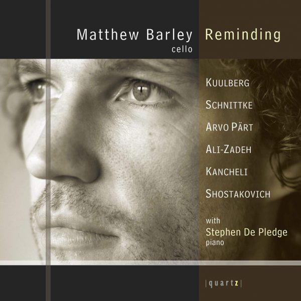 Matthew Barley (cello) and Stephen De Pledge (piano)