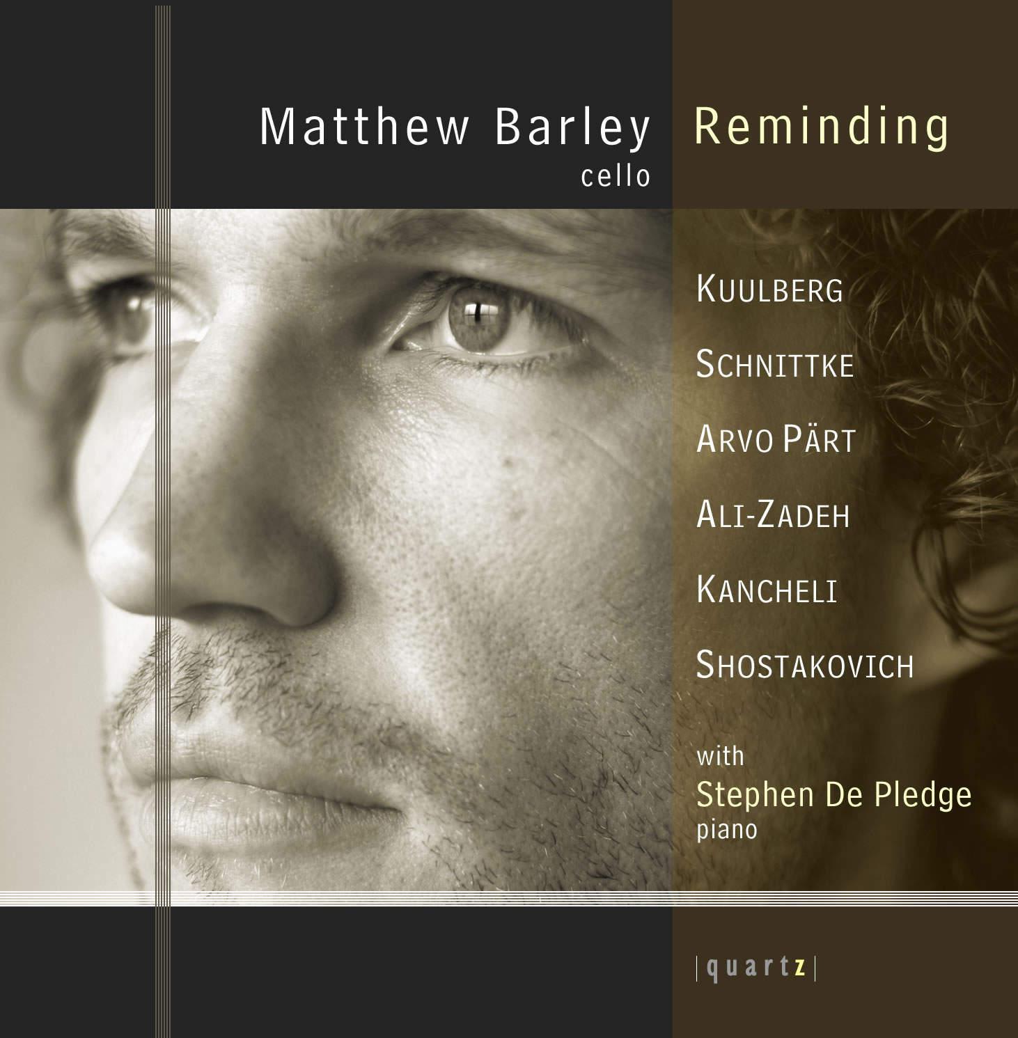 Matthew Barley (cello) and Stephen De Pledge (piano)