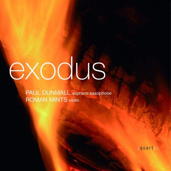 Roman Mints (violin) and Paul Dunmall (saxophone)