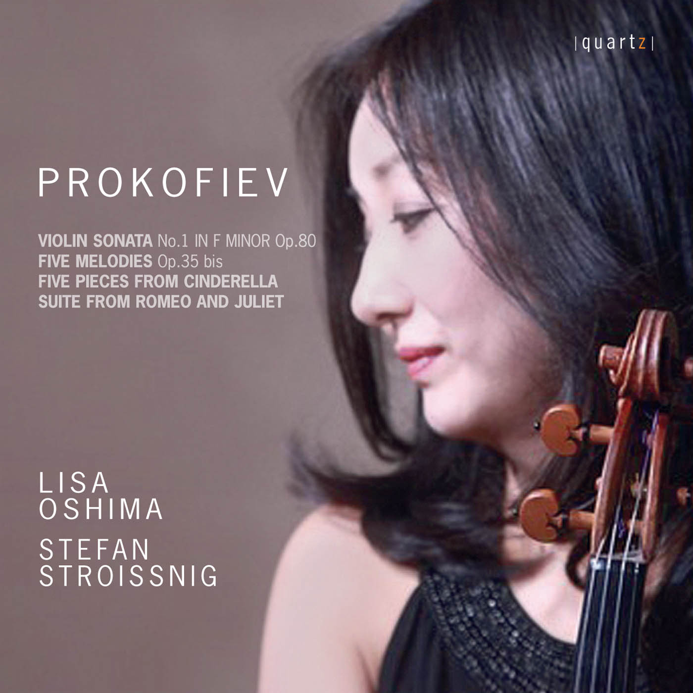 Prokofiev - Lisa Oshima, violin & Stefan Stroissnig, piano