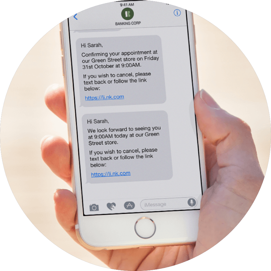 Appointment Scheduling Software With SMS Reminders Qudini
