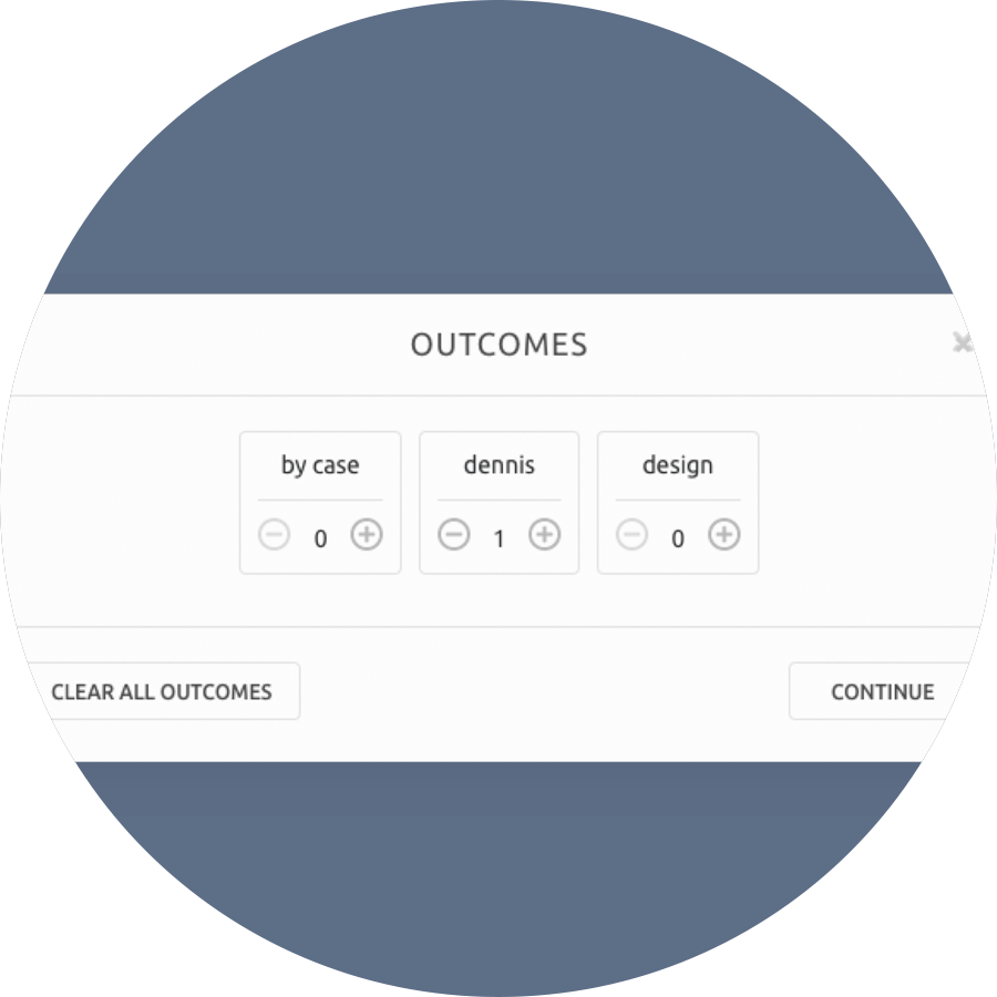 Outcome Reporting Qudini Queuing System