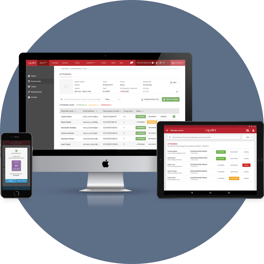 Event Management Software That Works On Any Device Qudini