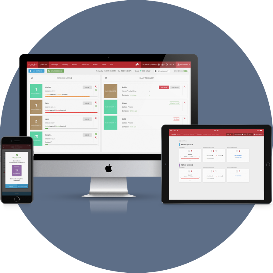 Workflow Order Management Software Works On Any Device Qudini